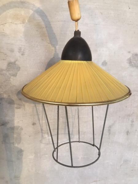 Super Vintage staande lamp - antiek , brocante en industrieel komt EA-23