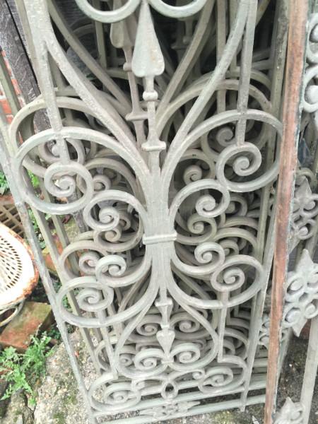 Verbazingwekkend gietijzeren ornamenten - antiek , brocante en industrieel komt MZ-14