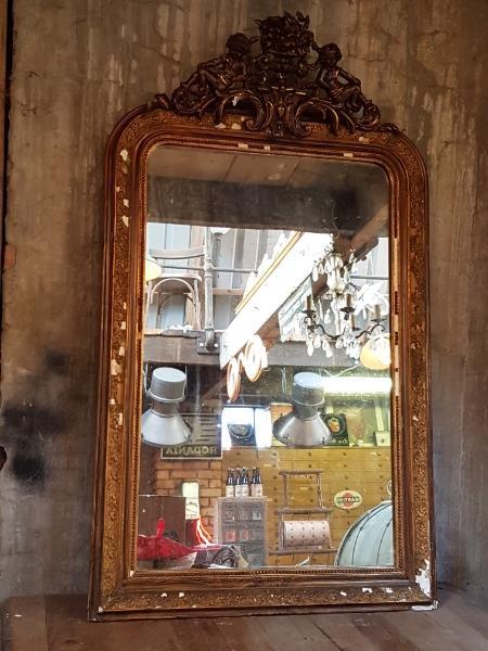 Antieke Brocante Spiegel.Brocante Spiegel Mirrors Items By Category European